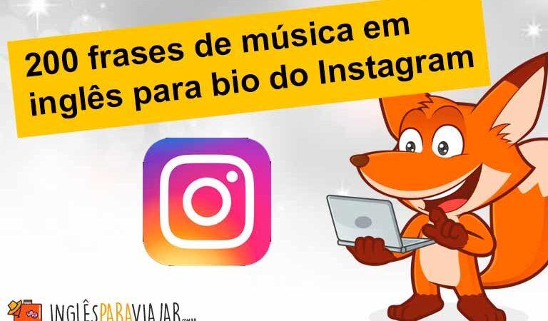 200 frases de música em inglês para bio do Instagram